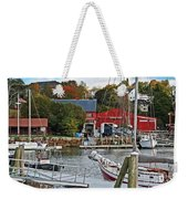 Holiday At Rockport Weekender Tote Bag