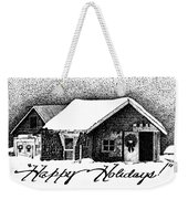 Holiday Barn Weekender Tote Bag