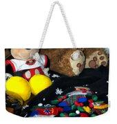 Holiday Bear Weekender Tote Bag