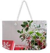 Holiday Birdcage Weekender Tote Bag