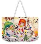 Holiday Cheer Weekender Tote Bag