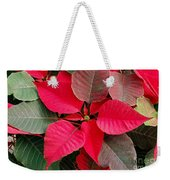 Holiday  Color Weekender Tote Bag