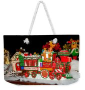 Holiday Express Weekender Tote Bag