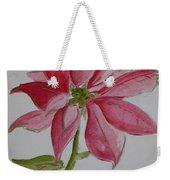 Holiday Flower Weekender Tote Bag