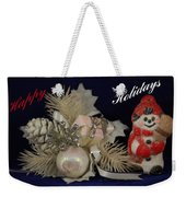 Holiday Greeting Weekender Tote Bag
