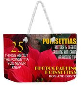 Holiday Home Magazine Cover Weekender Tote Bag