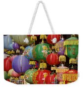Chinese Holiday Lanterns Weekender Tote Bag