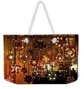 Holiday Lights Weekender Tote Bag