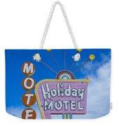 Holiday Motel Weekender Tote Bag