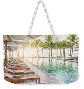 Holiday Resort Weekender Tote Bag