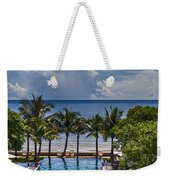 Holiday Resort With Jacuzzi And Pool Weekender Tote Bag