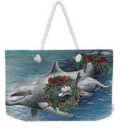 Holiday Smile Weekender Tote Bag