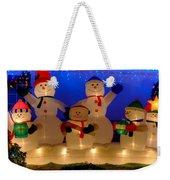 Holiday Snowmen 2 Weekender Tote Bag