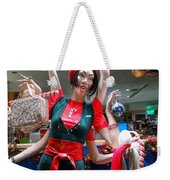 Holiday Stress Weekender Tote Bag