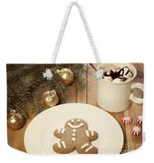 Holiday Treats Weekender Tote Bag by Juli Scalzi