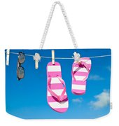Holiday Washing Line Weekender Tote Bag