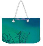 Holiday With Nature Weekender Tote Bag