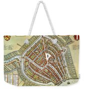 Holland: Gouda Plan, 1649 Weekender Tote Bag