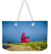 Holland Harbor Lighthouse Mi Weekender Tote Bag