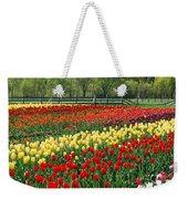 Holland Tulip Fields Weekender Tote Bag