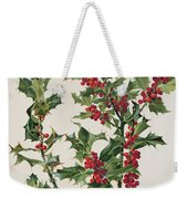 Holly Weekender Tote Bag by Alice Bailly