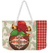 Holly And Berries-b Weekender Tote Bag
