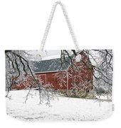 Holly Barn Weekender Tote Bag