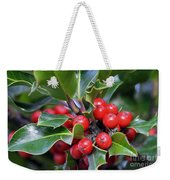 Holly Berries 2 Weekender Tote Bag