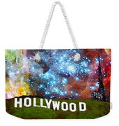Hollywood 2 - Home Of The Stars By Sharon Cummings Weekender Tote Bag