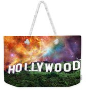 Hollywood - Home Of The Stars By Sharon Cummings Weekender Tote Bag