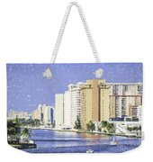 Hollywood In Florida Weekender Tote Bag