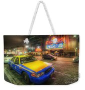 Hollywood Taxi Weekender Tote Bag