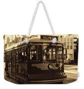 Hollywood Trolley Weekender Tote Bag