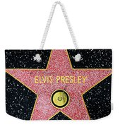 Hollywood Walk Of Fame Elvis Presley 5d28923 Weekender Tote Bag