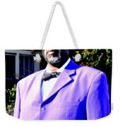 Hollywood Wearing His Dress Suit And Bow Tie Color Photo Usa Weekender Tote Bag