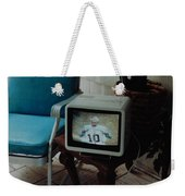 Holy Cow Phil Rizzuto Retired Yankee Number On 08 04 1985 Weekender Tote Bag