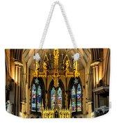Holy Cross Weekender Tote Bag