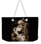 Holy Family Nativity - Color Monochrome Weekender Tote Bag
