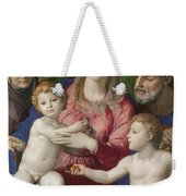 Holy Family With St. Anne And The Infant St. John Weekender Tote Bag