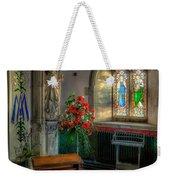 Holy Ground Weekender Tote Bag by Adrian Evans