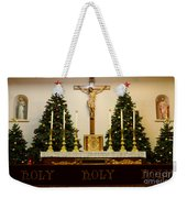 Holy Holy Holy Weekender Tote Bag by Bob Christopher