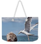 Holy Mackerel Weekender Tote Bag
