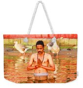 Holy River Weekender Tote Bag