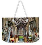 Holy Trinity Weekender Tote Bag by Adrian Evans