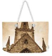 Holy Trinity Stratford On Avon Sepia Weekender Tote Bag