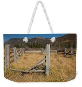Holzwarth Historic Site In The Kawuneeche Valley Weekender Tote Bag