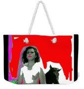 Homage Hedy Lamarr Nude Extasy 1932 Screen Capture Collage 1932-2012 Weekender Tote Bag