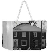 Homage To Winter In The City 3 Weekender Tote Bag