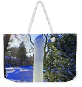 Homage To Winter In The City Weekender Tote Bag