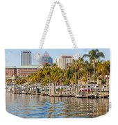 Home And Water And City Weekender Tote Bag